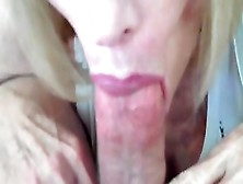 Close-Up Video With Mature Lady Finishes With Creampie