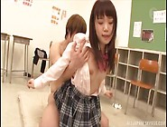 Cute Japanese Schoolgirl With Lovely Booty Gets Banged And Cream
