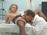 Blonde Milf Gets Her Pussy Licked And Fucked By Spoiled Doctor