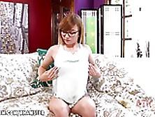 Ariel Skye Fucks Her Wet Pussy With A Fat Dildo