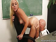 Juicy Blonde Mom Ashley Stone Getting A Cum Blast On Her Face