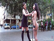 Sexy Whore Susy Gala Is Punished And Humiliated In Public
