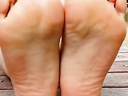 Western Belly Dancer Woman's Toes Bst Bst