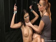 Katy Parker Tortures Petite Teen Sweet Claudia