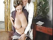 Classy Elegant Mature Gets Her Big Tits Groped And Jizzed On Aft
