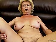 Busty Mature Lady Seizes The Chance To Suck And Fuck A Big Rod A