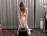 Aroused Pale Petite Skinny Redhead Teen