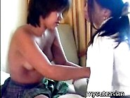 Barely Legal Asian Cuties Get Frisky