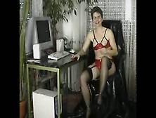 Mature Chair Piss