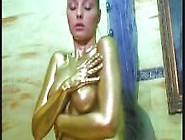 Sexy Golden Teen