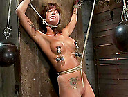 Tied Up And Gagged Gia Dimarco Gets Her Tits Tortured