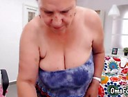 Mature Granny Is A Freak Showing It On Webcam