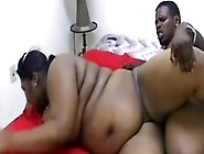 Skinny Black Dude Trying A Bbw Milf On For Size