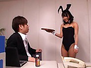 Bunny Girl Mayu Likes It Rough