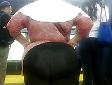 Bbw Latina Mega Booty In Black Jeans