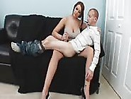 Jerked Off By A Big Woman