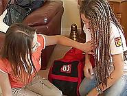 Long Hair Lesbians Fuck Each Other With Toys And A Strap On Vibr