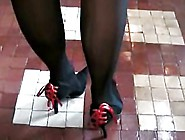 High Heels And Pantyhose