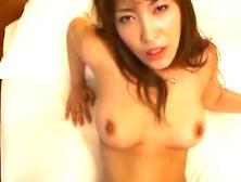 Busty Kokomi Sakura Riding Cock Then Getting Nice Load On Her Fa
