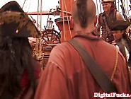 Pirate Babe Pleasing Captains Cock With Her Moist Pussy