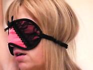 Kinky Blonde Housewife Drops Her Black Panties And Makes Herself