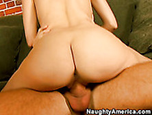 Young Petite Sweet Ass Blonde Chick Nicole Ray Gets Fucked On A
