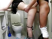 Skinny Russian Brunette Teen Girl Tanya Hard Bathroom Fuck