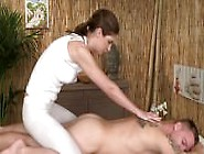 Massage Rooms Sexy Girl Gives Dream Handjob