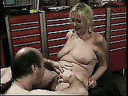 Mature Blonde Julie Has Her Man Pounding Her Needy Cunt In The G