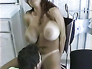 Kinky Man Licks Hot Pussy Of That Super Busty Brunette Mommy Gre