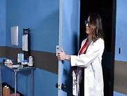 Horny Doctor Juelz Ventura Helps Her Patient Cum