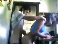 Girls. Co. Vu Latin Sister In Kitchen At Hornbunny Girls. Co. Vu
