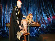 Sexy German Blondie Mia De Berg Gets Tortured By Master In Bdsm