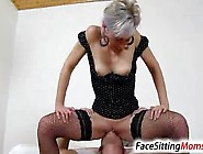 High Heels Fishnet Stockings Milf Beate Dirty Pussy Eating