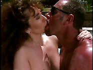 Big Tit Thick Brunette Slut Gets Her Pussy Licked And Filled Wit