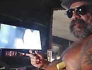 Foul Mouth Trucker Talk Dirty Stuff And Beats Off