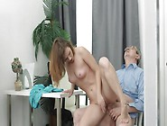 Sofy Torr Tricked By Her Old Teacher Into Sucking & Getting Her