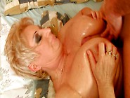 Juggy Blond Mature Gets Fucked Doggy And Missionary Style