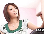Subtitles Cfnm Japanese Artist Handjob