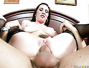 Sexy Lisa Going Extra Hard While Working On A Large Cock