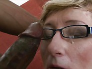 Granny Tries Black Cock