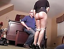 Adopted Daughter Takes A Hard Spanking