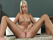 Sweet Young Blonde With Big Titties Solo