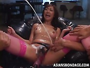 Cute Japanese Girl Gets Fucked By Hundreds Of Vibrators