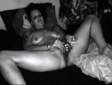 Her Pierced Pussy Is Cumming Hard