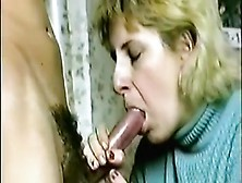 Crazy Homemade Video With Blonde,  Blowjob Scenes
