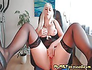 My Milf Exposed Watch My Wife Teasing In Sexy Stockings