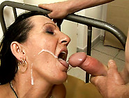 Dirty-Minded Black Haired Wifey Gets Her Pussy Hammered Tough On
