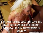 White Brides Fucked By Bbc