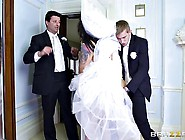 Bride With Huge Tits Gets Fucked Before The Wedding